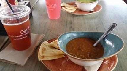 Lentil soup, yum!